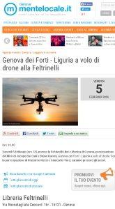Genova dei Forti - Liguria a volo di drone alla Feltrinelli