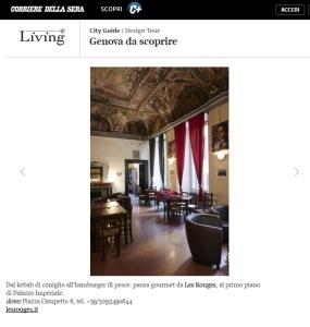 La mostra fotografica Genova dei Forti su Il Corriere della Sera