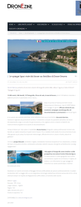 Spiagge di Liguria su DronEzine
