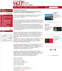 Spiagge di Liguria sul sito dell'editore