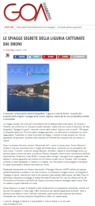 Spiagge di Liguria su Goa Magazine