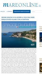 Articolo di Mare Online su Spiagge di Liguria