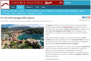 Articolo di Liguria Nautica su Spiagge di Liguria