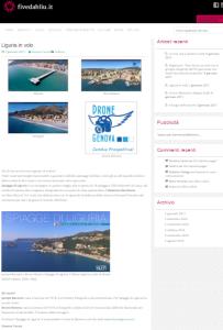 Fivedabliu recensisce Spiagge di Liguria