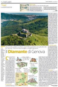 Genova dei Forti sul Corriere della Sera