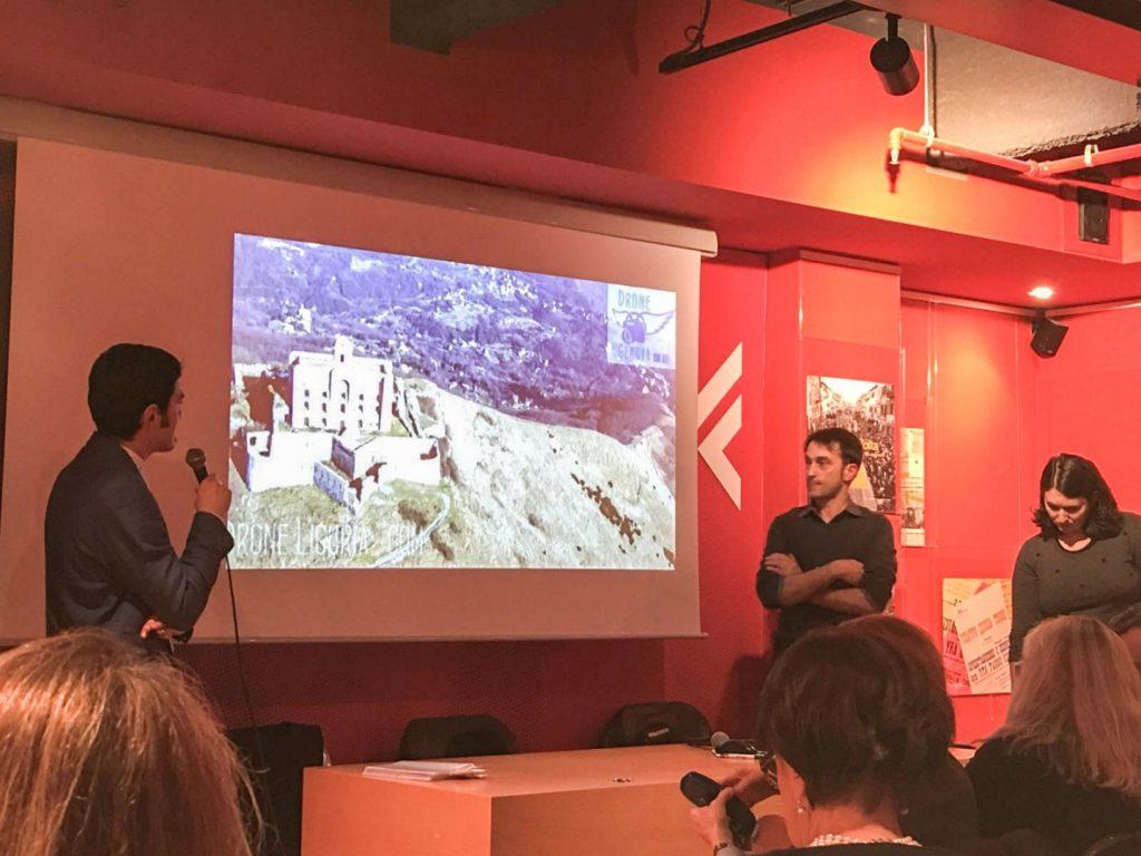 Presentazione alla Feltrinelli di Genova