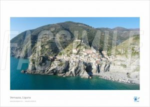 Poster Vernazza 2, 30x40 cm