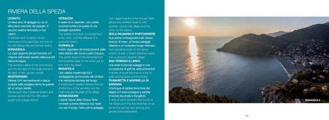 Libro Spiagge di Liguria - Pagina 137: Indice provincia di La Spezia / Bonassola