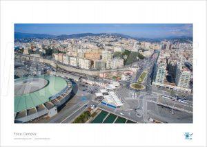 Poster Foce 3, Genova, 30x40 cm