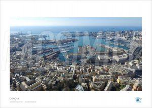 Poster Porto, Genova, 30x40 cm